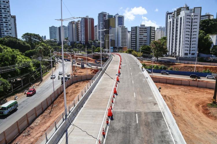 Essa é apenas uma etapa das intervenções dos corredores exclusivos do BRT   Foto: Divulgação   Secom-PMS - Foto: Divulgação   Secom-PMS