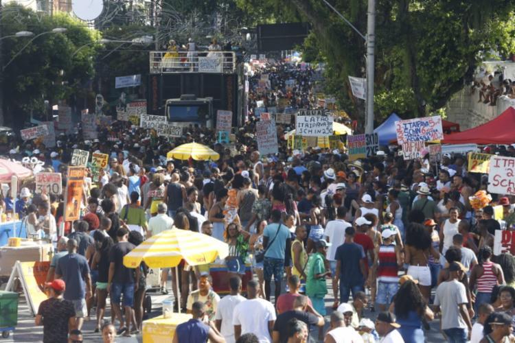 Disparos ocorreram na tarde deste domingo | Foto: Rafael Martins | Ag. A TARDE - Foto: Rafael Martins | Ag. A TARDE