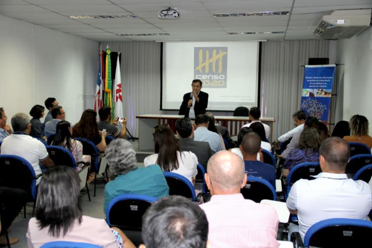 A pesquisa do Instituto Brasileiro de Geografia e Estatística contará com o apoio do Governo do Estado. - Foto: Divulgação