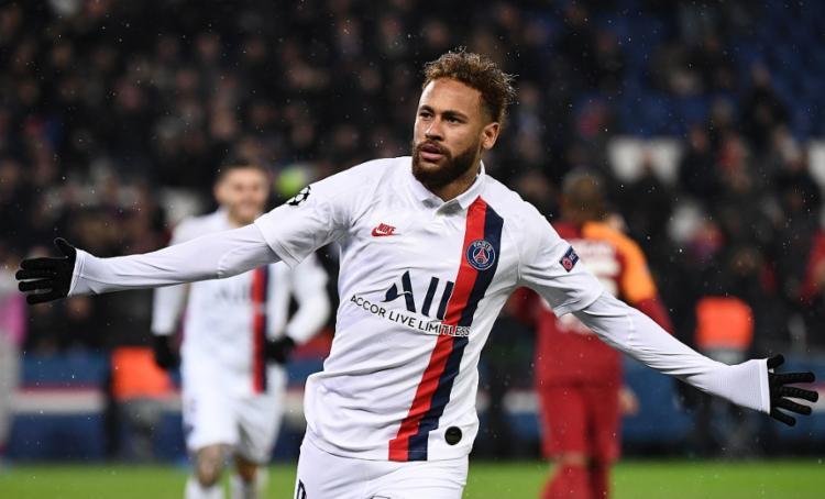Neymar balançou as redes e ainda deu duas assistências no triunfo do PSG sobre o Galatasaray | Foto: Franck Fife | AFP - Foto: Franck Fife | AFP