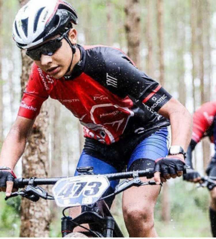 Ciclista treinava na hora do acidente | Foto: Reprodução | Redes Sociais - Foto: Reprodução | Redes Sociais
