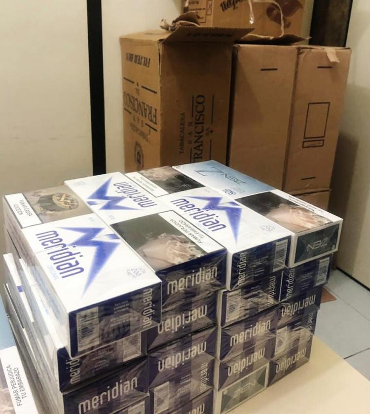 Contrabando foi encontrado em caixas dentro de um carro | Divulgação | SSP - Foto: Divulgação | SSP