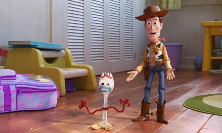 Woody se despede da sua turma de brinquedos em Toy Story 4 | Foto: Divulgação