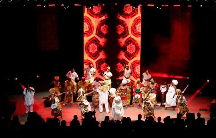 Espetáculo teve abertura do Coletivo Afrobapho e participação de Daniela Mercury - Foto: Mateus Pereira   GOVBA