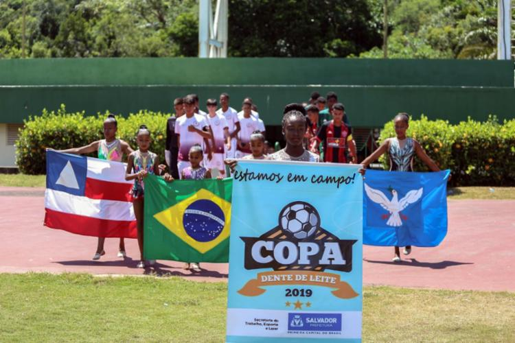 Edição de 2019 da Copa Dente de Leite teve início em setembro | Foto: Divulgação - Foto: Divulgação