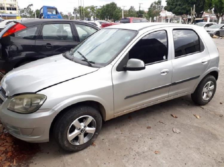 O carro de Edcarlos foi encontrado abandonado próximo ao Estádio Joia da Princesa | Foto: Divulgação | Acorda Cidade - Foto: Divulgação | Acorda Cidade