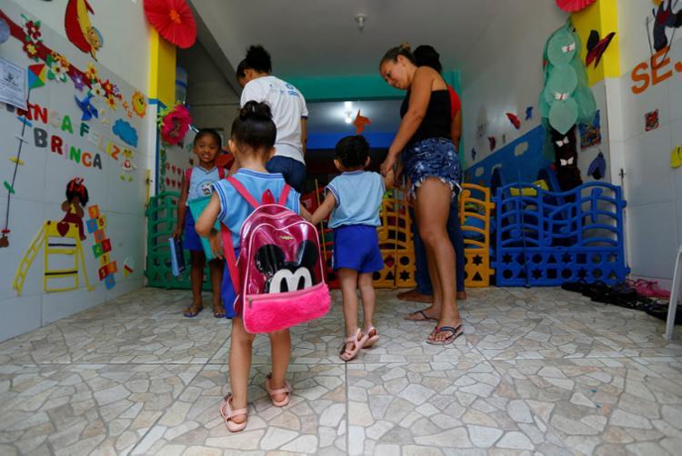 Em 2019, foram matriculadas em creches 2.400 crianças de 0 a 3 anos - Foto: Rafael Martins   Ag. A TARDE