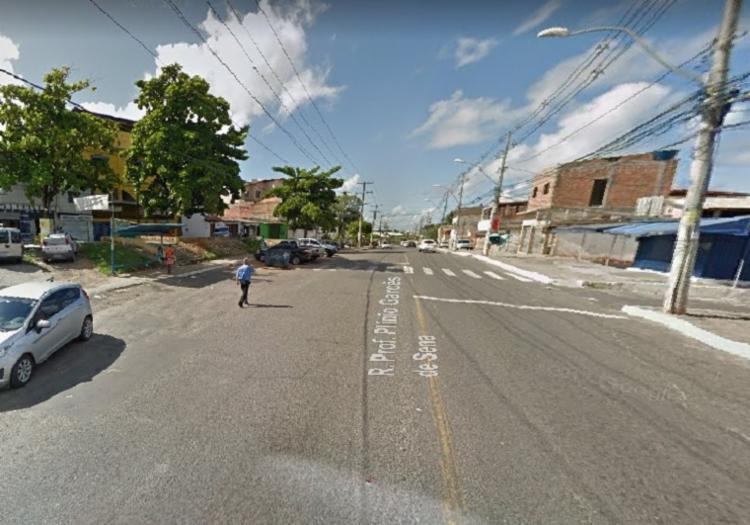 Crime aconteceu no início da noite desta quinta-feira   Foto: Reprodução   Google Street View - Foto: Reprodução   Google Street View