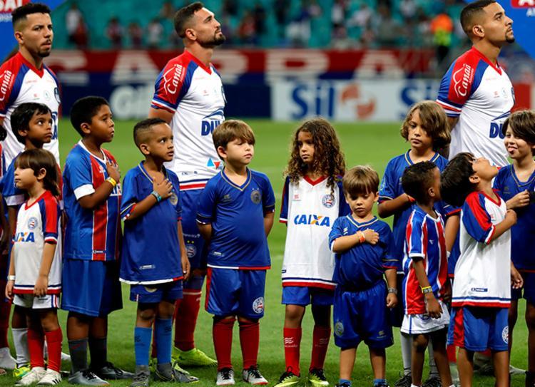 Tricolor estreia na Sul-americana na Arena Fonte Nova | Foto: Felipe Oliveira | EC Bahia - Foto: Felipe Oliveira | EC Bahia