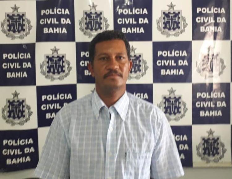 Adenilson foi denunciado por violência doméstica e, durante buscas no sistema, foi localizado um mandado em aberto | Foto: Divulgação | SSP - Foto: Divulgação | SSP