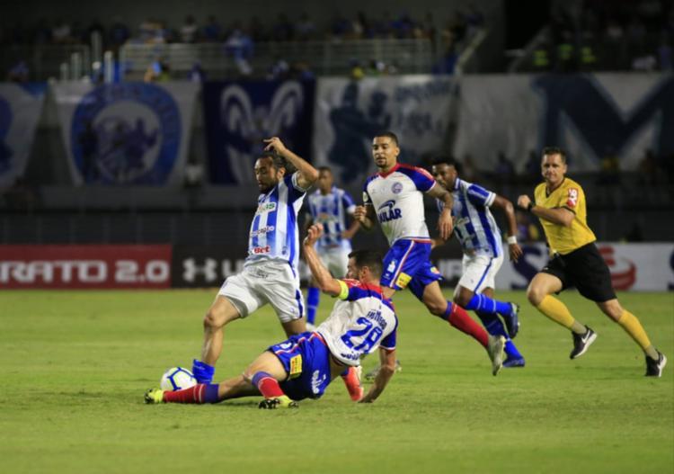 Tricolor superou o CSA no estádio Rei Pelé, em Maceió   Foto: Ailton Cruz   Gazeta Alagoas - Foto: Ailton Cruz   Gazeta Alagoas