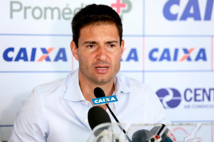 Cerri está no Bahia desde a gestão de Marcelo Santana | Foto: Felipe Oliveira | EC Bahia - Foto: Felipe Oliveira | EC Bahia