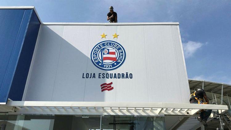 Clube irá arrecadar alimentos na loja do clube, na Arena Fonte Nova   Divulgação   EC Bahia - Foto: Divulgação   EC Bahia