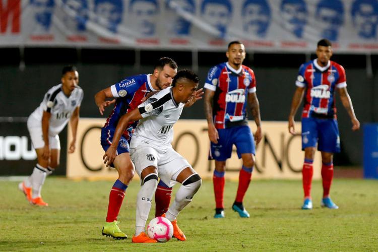 Tricolor perdeu de virada para o Ceará após estar vencendo até os 41 do segundo tempo | Felipe Oliveira | EC Bahia