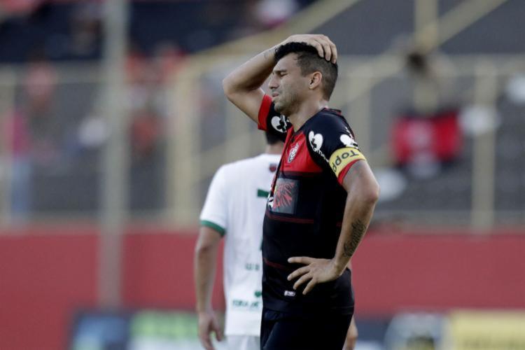 No Baianão, o Vitória amargou uma eliminação ainda na primeira fase | Foto: Raul Spinassé | Ag. A TARDE