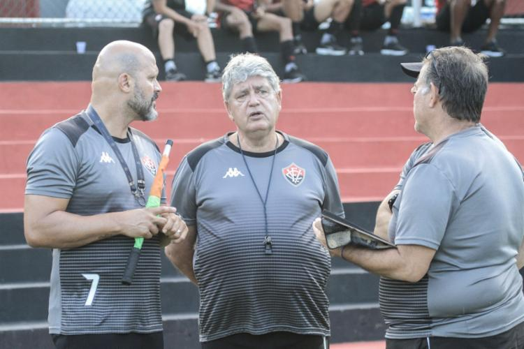 Geninho chegou no final de novembro para assumir o lugar deixado por Amadeu | Foto: Letícia Martins | EC Vitória