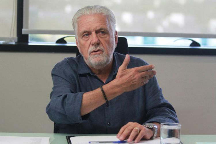 Para Wagner, a base aliada do governador Rui Costa (PT) deve ter de dois a três nomes na disputa   Foto: Tiago Caldas   Ag. A TARDE - Foto: Tiago Caldas   Ag. A TARDE