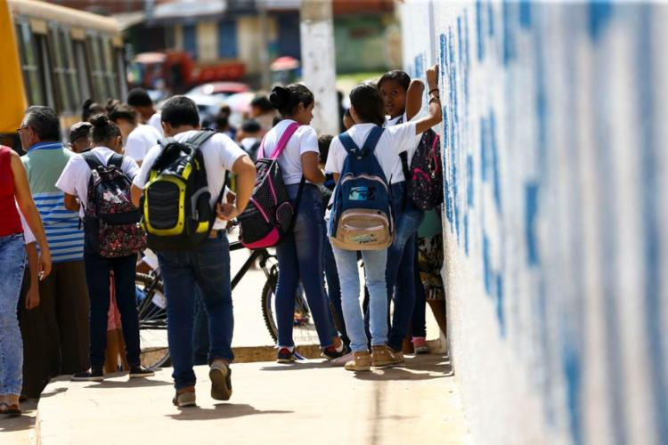 A intenção é tornar a escola mais atrativa para os estudantes   Foto: Marcelo Camargo   Agência Brasil - Foto: Marcelo Camargo   Agência Brasil