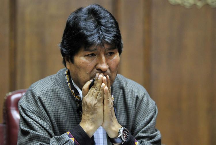 Ex-presidente está refugiado na Argentina desde o último dia 12 | Foto: Claudio Cruz | AFP - Foto: Claudio Cruz | AFP