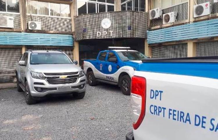 Polícia Civil está investigando o crime | Foto: Aldo Matos | Acorda Cidade - Foto: Aldo Matos | Acorda Cidade