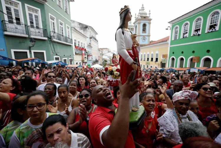 Festa é patrimônio imaterial da Bahia | Foto: Raul Spinassé | Ag. A TARDE - Foto: Raul Spinassé | Ag. A TARDE