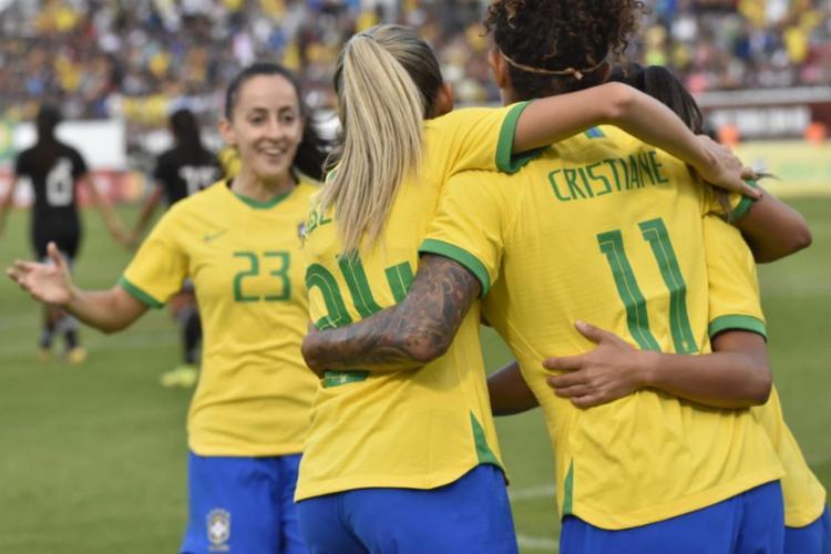 Equipe canarinho aplicou 6 a 0 nas mesmas rivais | Foto: Alexandre Loureiro | CBF - Foto: Alexandre Loureiro | CBF