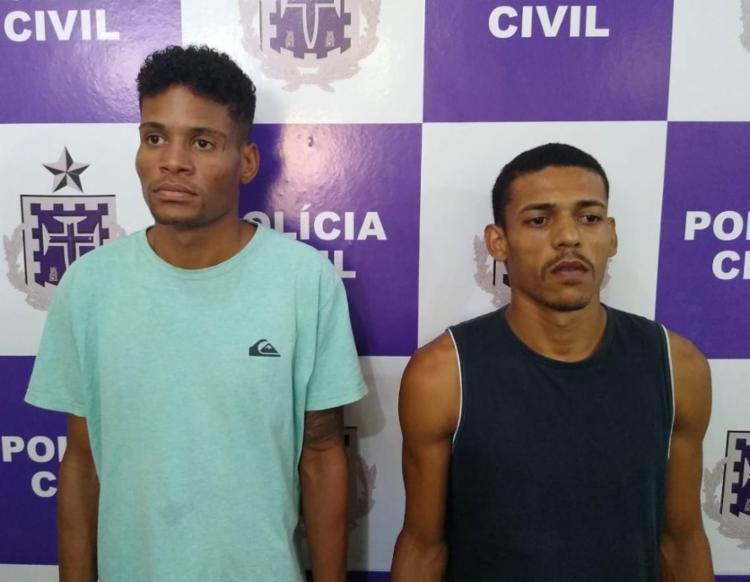 John e Elizeu estão à disposição da Justiça   Foto: Divulgação   Polícia Civil - Foto: Divulgação   Polícia Civil