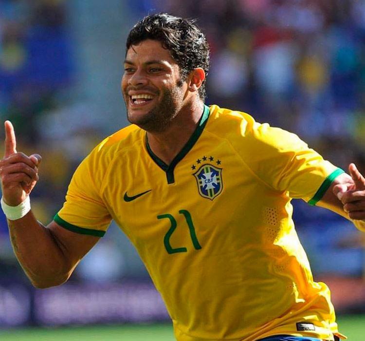 Hulk foi titular da Seleção Brasileira na Copa do Mundo de 2014   Reprodução   Instagram - Foto: Reprodução   Instagram