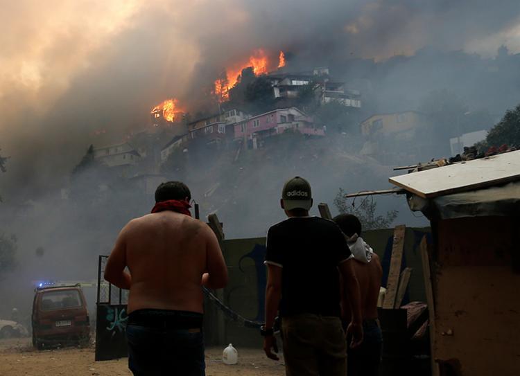 Pelo menos 90 mil pessoas ficaram sem energia   Foto: Raul Zamora   AFP - Foto: Raul Zamora   AFP