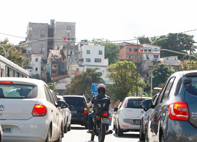 Pagamento do IPVA em cota única pode ser realizado até 10 de fevereiro de 2020 | Foto: Joá Souza | Ag. A TARDE - Foto: Joá Souza | Ag. A TARDE