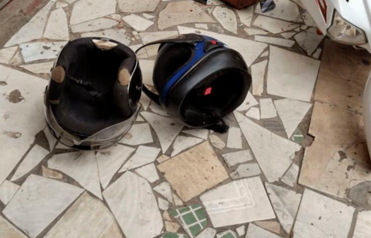 Corpo foi encontrado ao lado de dois capacetes | Foto: Reprodução | Blog Pimenta - Foto: Reprodução | Blog Pimenta
