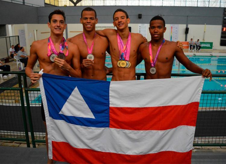 Natação foi o destaque da delegação baiana na competição nacional | Foto: Divulgação | Sudesb - Foto: Divulgação | Sudesb