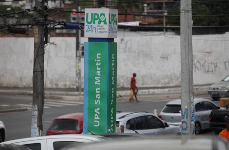 Vítimas foram socorridas para a UPA da San Martin | Foto: Raul Spinassé | Ag. A TARDE - Foto: Raul Spinassé | Ag. A TARDE