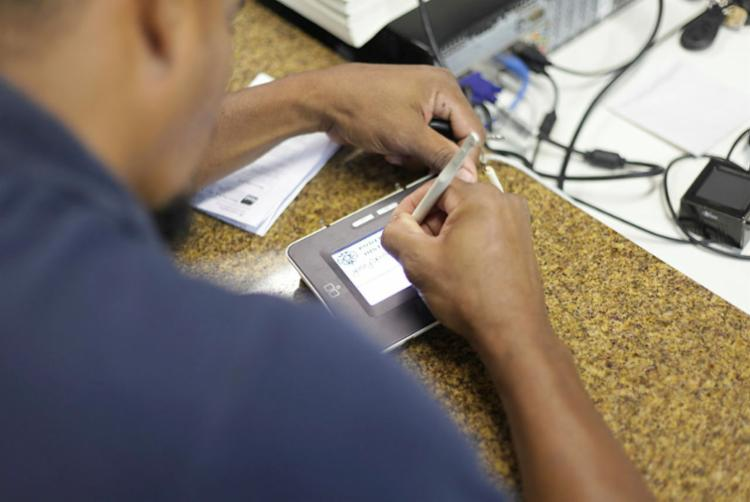 O intuito da ação é facilitar o acesso ao serviço de recadastramento biométrico | Foto: ivulgação | Wallace Cardozo - Foto: Divulgação | Wallace Cardozo