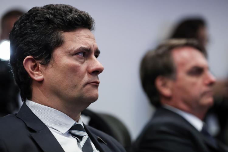 Após a chamada, Moro recebeu novos contatos por meio do aplicativo de mensagens Telegram | Foto: Marcos Corrêa | PR - Foto: Marcos Corrêa | PR