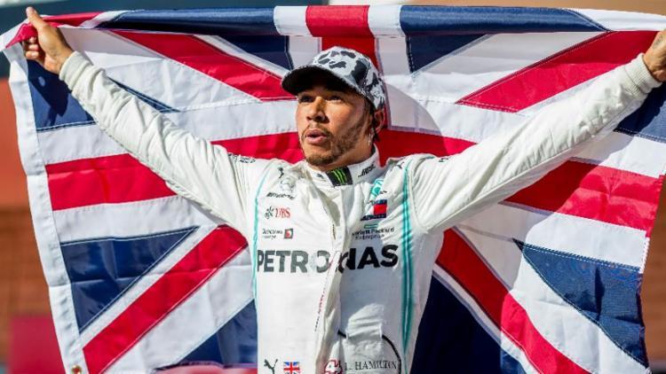 Lewis Hamilton foi o homem do ano na Fórmula 1 | Foto: Peter J Fox | Getty Images
