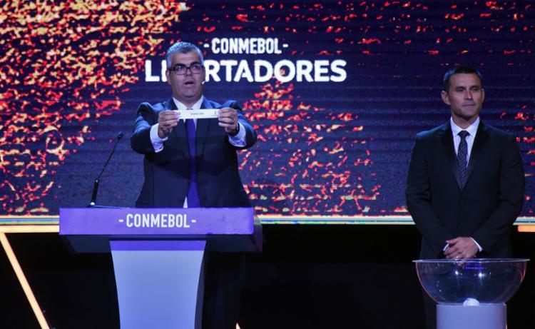 Grupos da Libertadores 2020 foram definidos na noite desta terça-feira, 17 | Foto: Norberto Duarte | AFP - Foto: Norberto Duarte | AFP