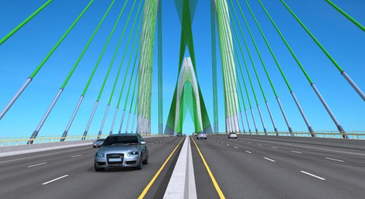 Construção da ponte durará cinco anos | Imagem: Divulgação - Foto: Divulgação