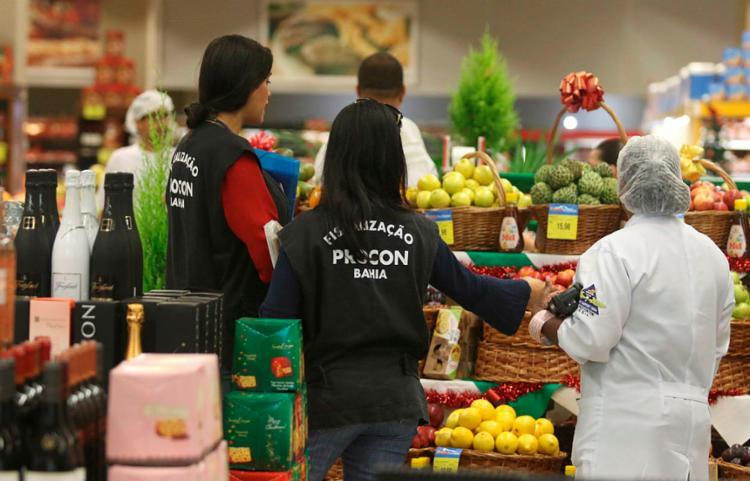 Em 2018, cerca de 35 supermercados foram fiscalizados   Foto: Tiago Caldas   Ag. A TARDE - Foto: Tiago Caldas   Ag. A TARDE