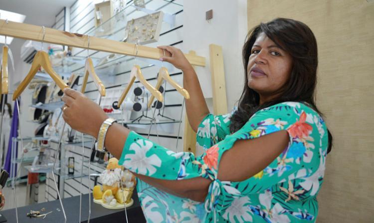 Anailde recorreu a um empréstimo após o primeiro ano do negócio - Foto: Shirley Stolze | Ag. A TARDE