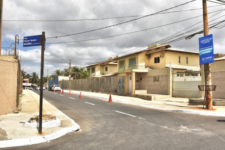 A obra era uma reivindicação antiga da comunidade que sofria com alagamentos durante a época de chuva. - Foto: Divulgação   Secom