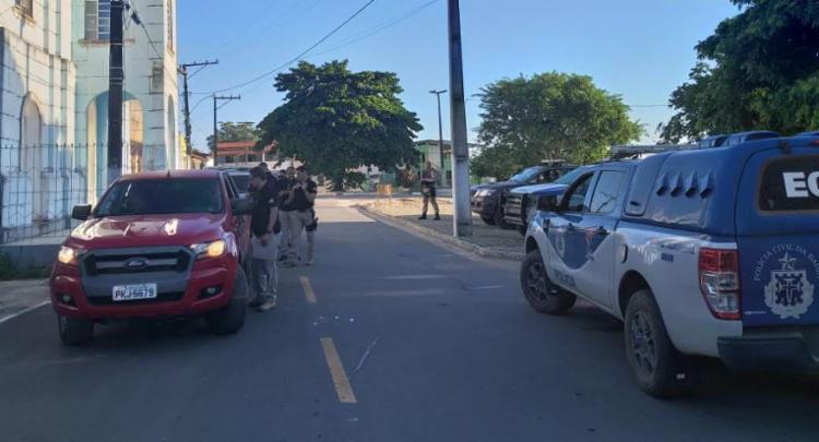A operação cumpre mandados de prisão e de busca e apreensão | Divulgação | Polícia Civil - Foto: Divulgação | Polícia Civil