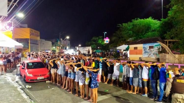 O objetivo da operação é combater as festas irregulares   Divulgação - Foto: Divulgação