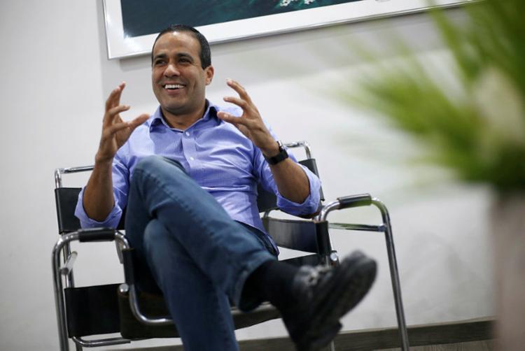 Bruno Reis, vice-prefeito e secretário de Infraestrutura de Salvador   Foto: Raphael Müller   Ag. A TARDE - Foto: Raphael Müller   Ag. A TARDE