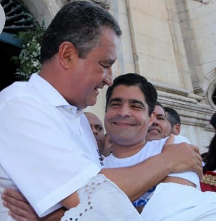 Rui e Neto, os atores principais do duelo Salvador 2020   Foto: Mateus Pereira   Secom Governo - Foto: Mateus Pereira   Secom Governo
