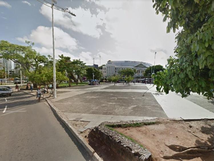 Mudança será realizada por causa das obras do BRT | Foto: Reprodução | Google Maps - Foto: Reprodução | Google Maps