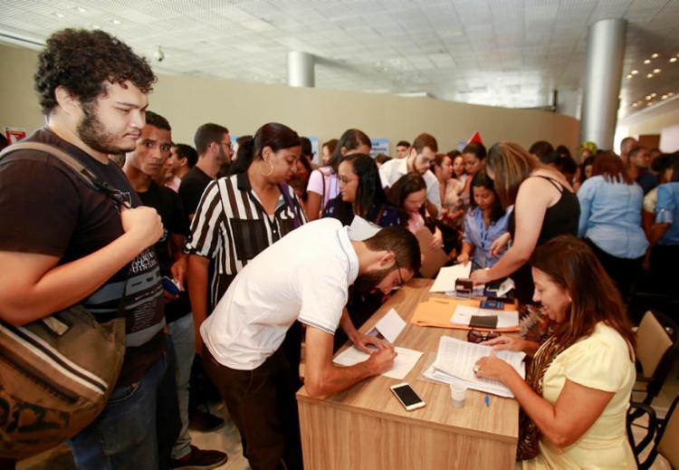 Oportunidade são para 2.838 de estágio para 110 cursos de graduação presenciais e EAD de instituições de ensino na Bahia   Foto: Luciano da Matta   Ag. A TARDE - Foto: Luciano da Matta   Ag. A TARDE