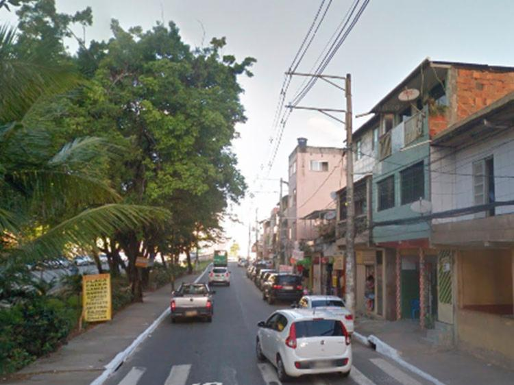 Obra tem o objeto de melhorar a infraestrutura e a mobilidade na região   Foto: Reprodução   Google Street View - Foto: Reprodução   Google Street View