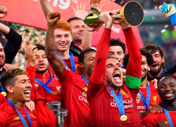 Liverpool confirmou favoritismo e conquistou o Mundial de Clubes da Fifa pela primeira vez | Foto: Giuseppe Cacace | AFP
