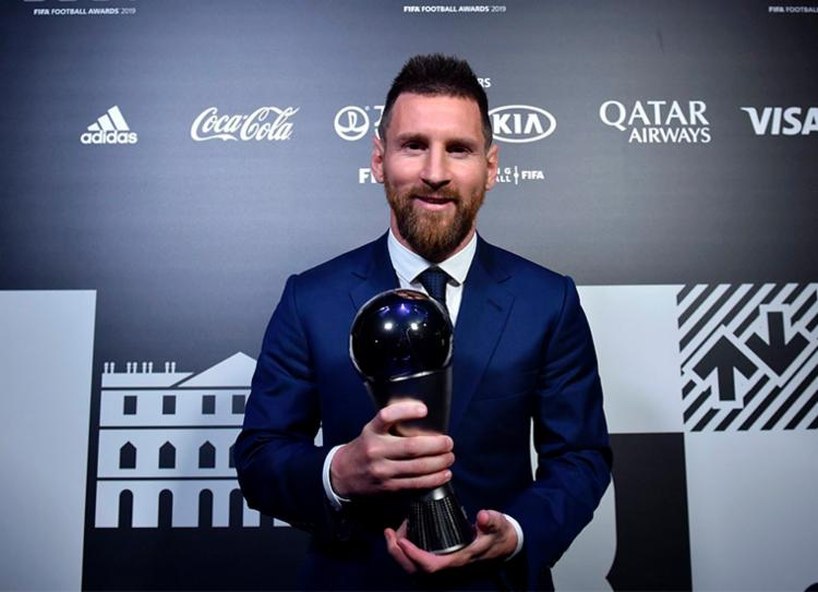 Messi conquistou seu sexto título de melhor do mundo | Foto: Divulgação | Fifa